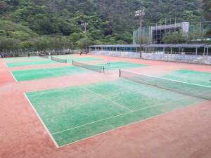 テニスコート 1596