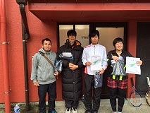 2016.2.7 第21回シングルス(年代別)優勝者