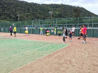 2016市民スポーツフェスタ テニス教室(サーブ編)IMG_5079