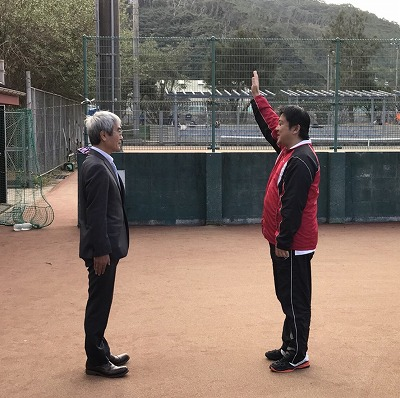 瀬戸山選手 選手宣誓