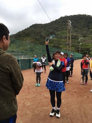 第23回レディーステニス 選手宣誓