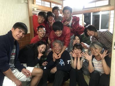 井田コーチと学生 2018春合宿栄養会