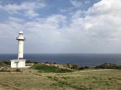 田皆岬の灯台