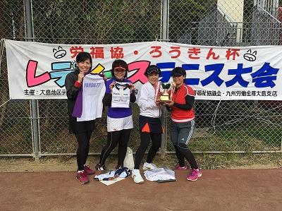 第23回レディーステニス 優勝・準優勝者