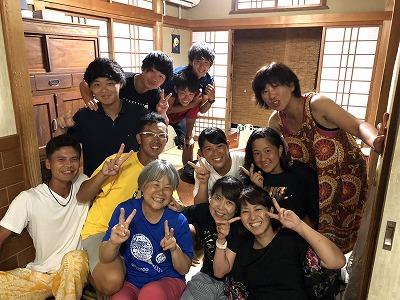 2018.8 関東学生チーム 合宿中