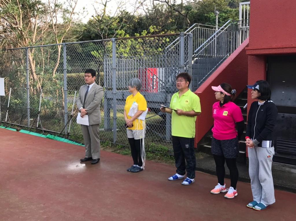 2019.3.3 レディーステニス大会 開会式 ろうきん次長挨拶