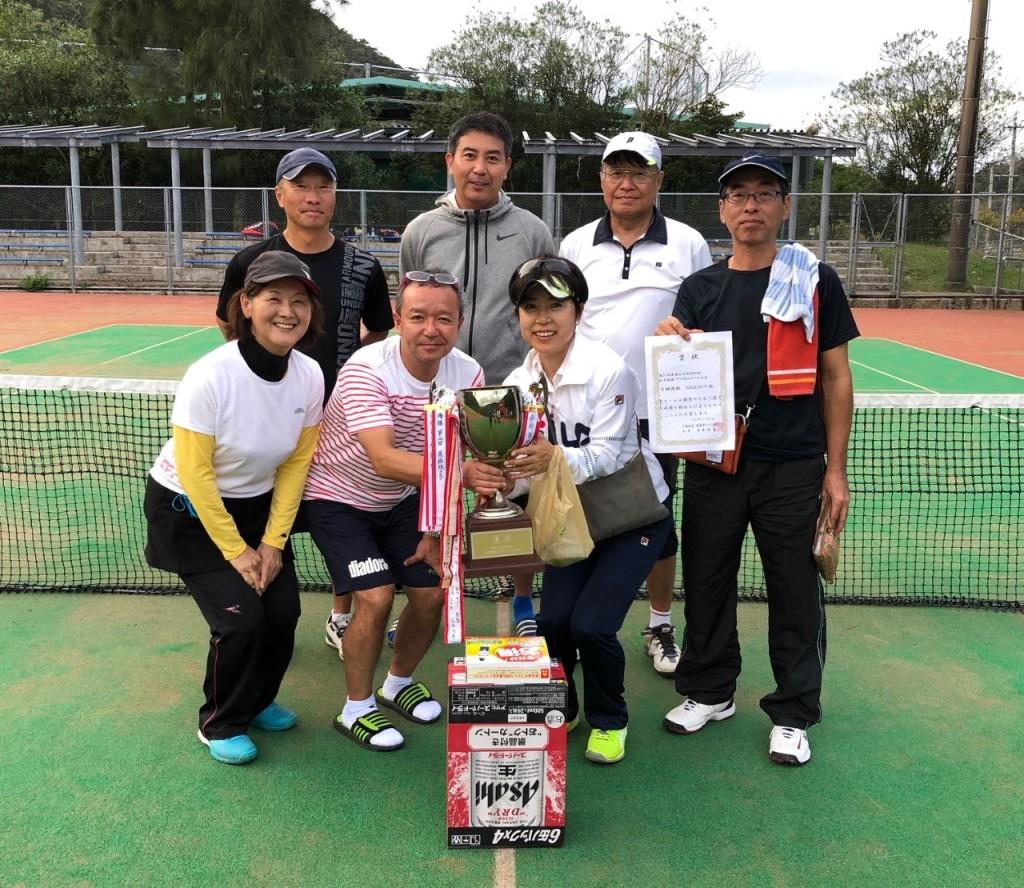 2019.11.24 第31回秋季団体戦 B級優勝 名瀬クラブ