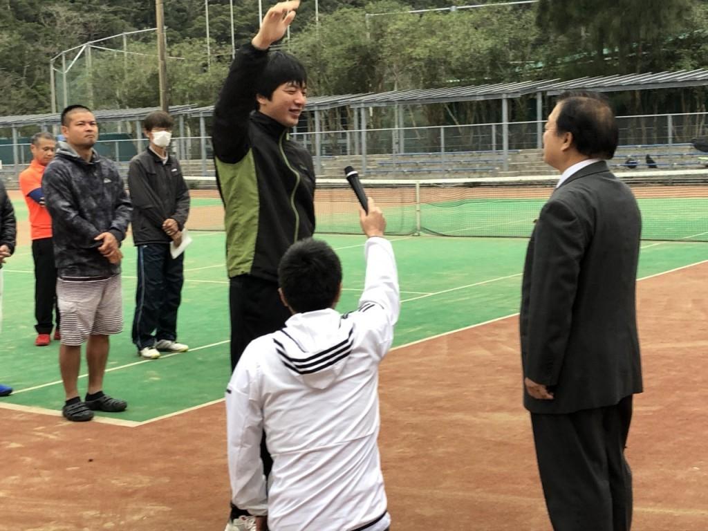 2020.1.19 第14回奄美市長杯 選手宣誓