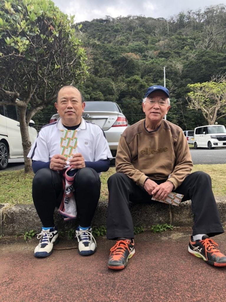 2020.1.19 第14回奄美市長杯 男子B準優勝