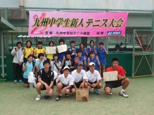九州中学新人大会-チーム鹿児島