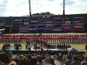 全国選抜高校14開会式