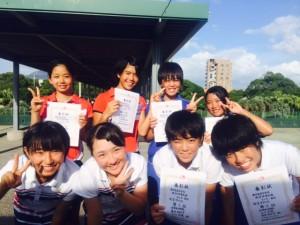 県中学総体14表彰式