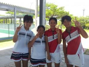 九州中学総体14サチコ