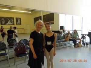 カナダ国立バレエ学校-先生
