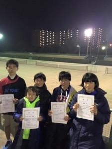 県中学新人戦15-1