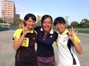 インハイ予選15里奈・凪紗・由貴