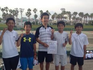 県中学生15団体