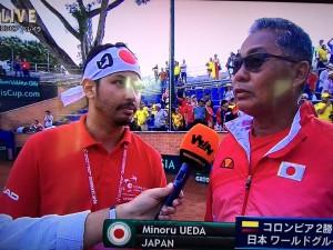 デビスカップ15コロンビア-植田さん