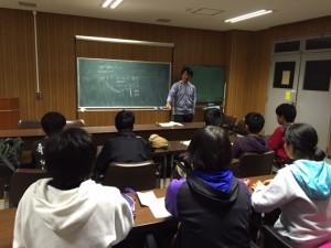 国体強化合宿@NIFS‐高橋先生2