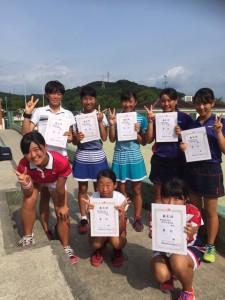 16九州中学総体‐女子