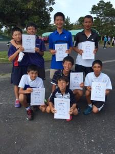 16九州中学総体‐男子