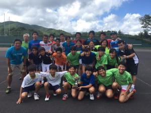 鹿宮対抗戦16‐閉会式チーム鹿児島