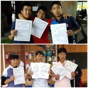 17 県中学ー優勝!