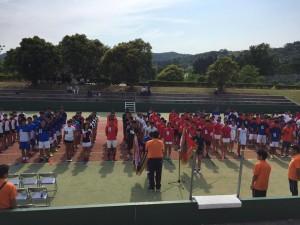 17 九州インハイ-開会式