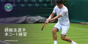 17 Wimbledon-nishikori-practice1