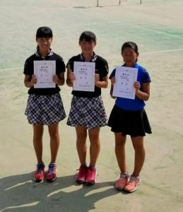 17 県中学総体-女子