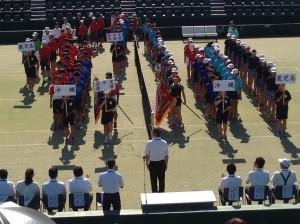 17 九州中学総体-開会式1