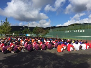 17 県高校新人戦-開会式