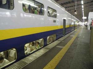 18 JTA北信越合宿ー新幹線