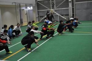 18 JTA北信越合宿-トレーニング
