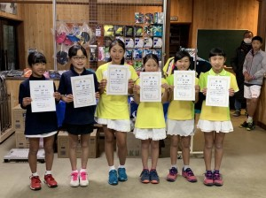 19 県小学生大会ー小5女子