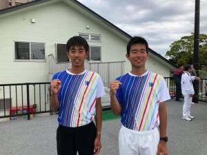 19 樋口杯ー男ダブ1