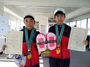 千葉白子ジュニアテニストーナメント新春