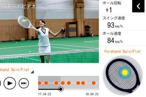 スマートテニスセンサー
