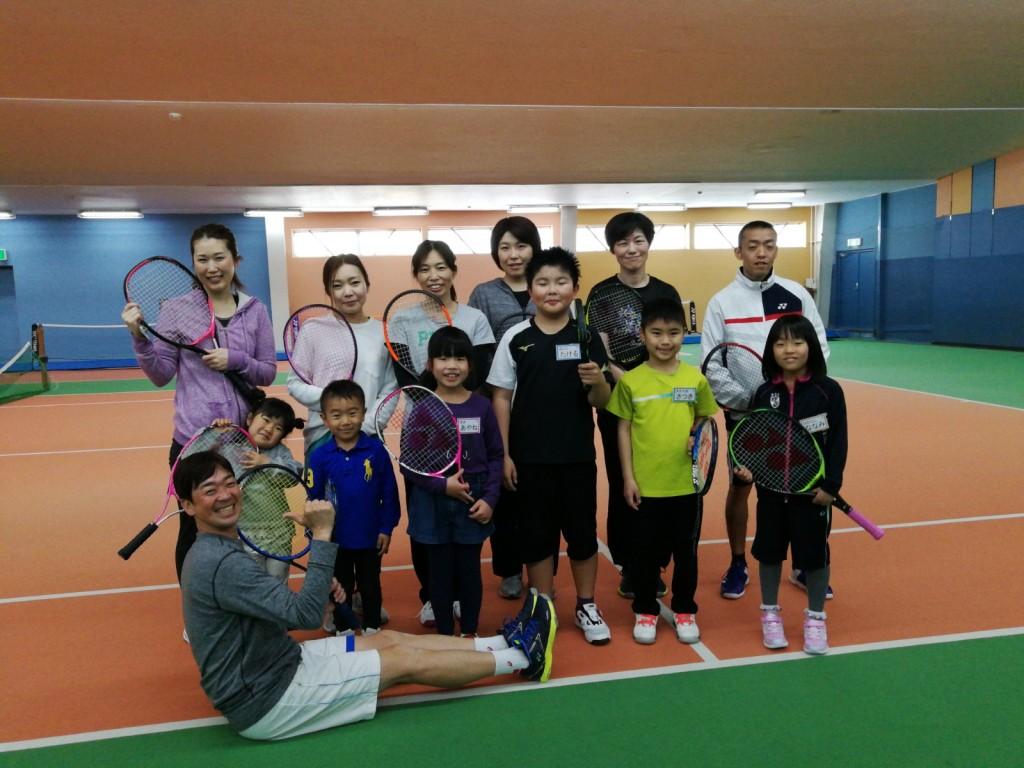 親子テニス