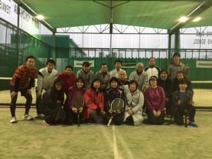 2018年親睦テニス大会①
