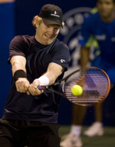 ATP Tennis Player Jim Courier from USA h