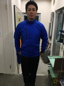 米澤コーチ フリースジャケット