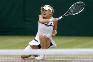 テニス=ラドワンスカらが4強、ウィンブルドン女子単