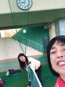 ネット張り【佐藤直子のテニスがすべて】