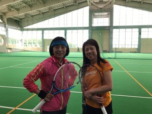 ささっと練習【佐藤直子のテニスがすべて】