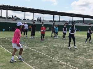 気持ち良い日【佐藤直子のテニスがすべて】