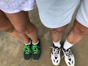 この足は誰でしょう【佐藤直子のテニスがすべて】