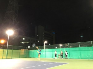 ナイター【佐藤直子のテニスがすべて】