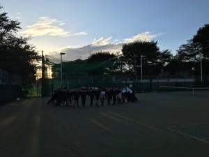 円陣【佐藤直子のテニスがすべて】