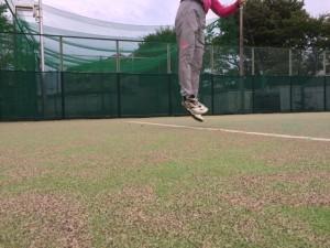 20センチジャンプ【佐藤直子のテニスがすべて】